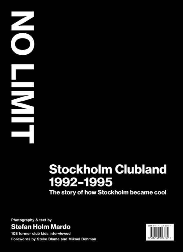 NO LIMIT – Stockholm Clubland 1992–1995